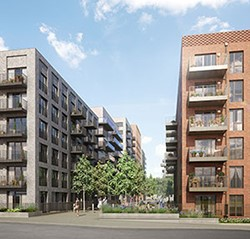 Wandsworth housing development